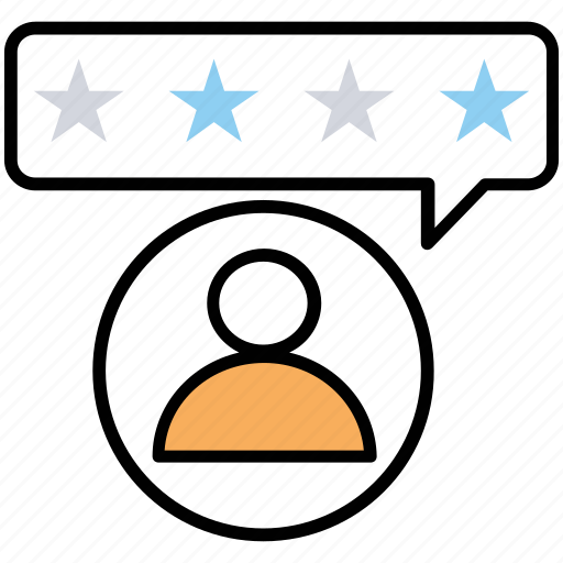 customer feedback, customer rating, customer review, customer satisfaction level, spoof review icon