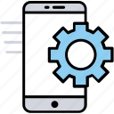 mobile configuration, mobile control, mobile seo, mobile settings, phone settings icon