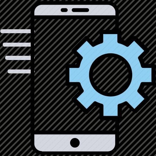 mobile configuration, mobile control, mobile seo, mobile settings, phone settings icon