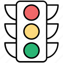 online traffic control, traffic light seo, traffic lights, traffic signal, website traffic lights icon