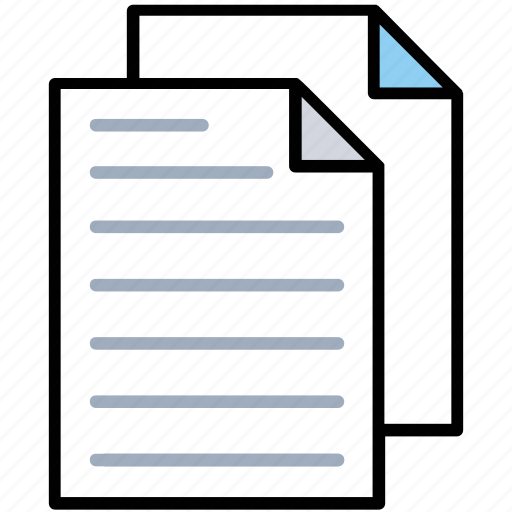 blank papers, computer file, contract, documents, sheets icon