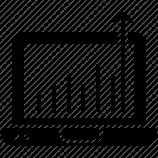 growth traffic, online business analytics, search engine optimization, seo traffic, website dashboard icon