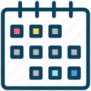 seo, calendar, date, month, deadline