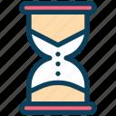 seo, hourglass, deadline, sand watch, countdown