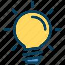 seo, idea, bulb, light, innovation