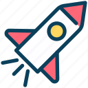seo, startup, rocket, launch, spaceship