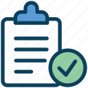 seo, report, clipboard, check, document