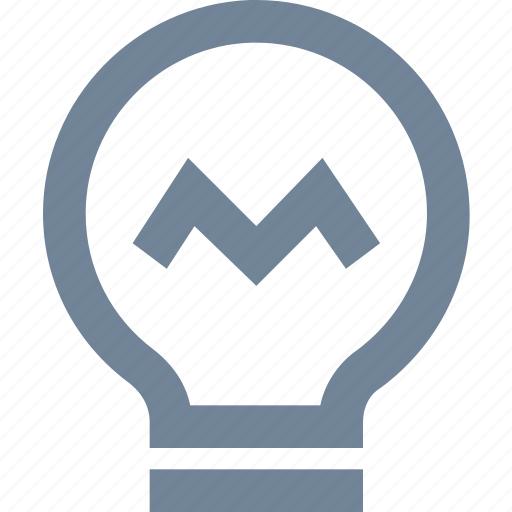 bulb, clever, electric, electricity, idea, light, marketing icon