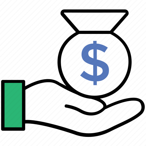assets, earning, income, money, reserves icon