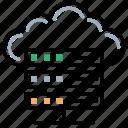 cloud shared information, cloud dbms, cloud server, cloud storage, cloud hosting