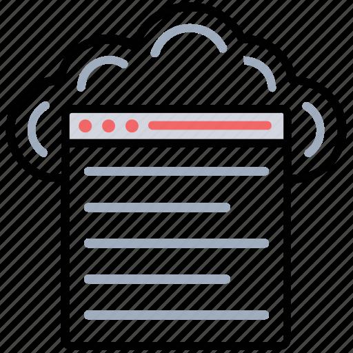 cloud computing, cloud hosting service, cloud network, cloud platform, cloud website icon