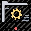 folder settings, data management, shared data management, folder management, online info settings