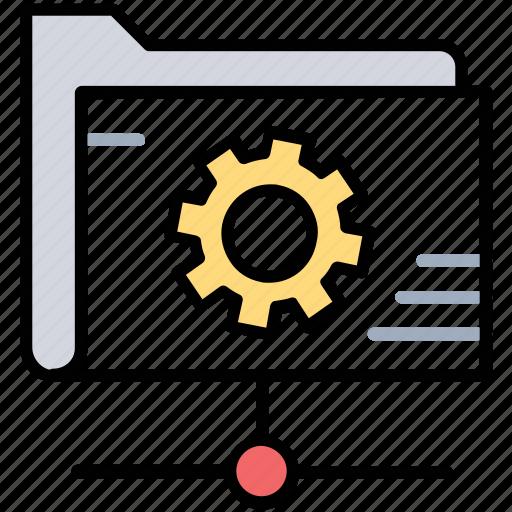 data management, folder management, folder settings, online info settings, shared data management icon