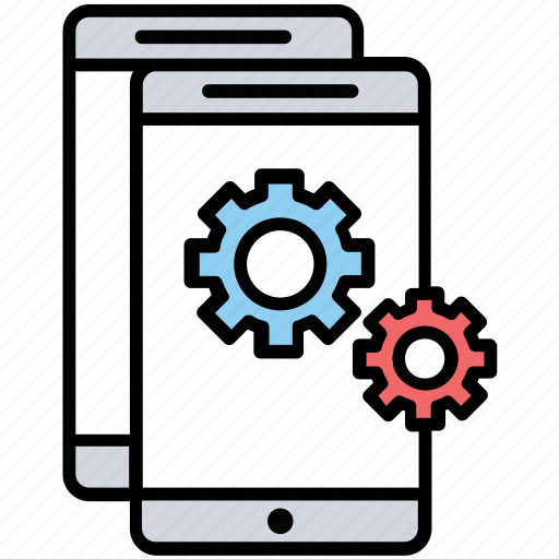 app configuration, app installation, app settings, iphone software, phone settings icon