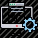 code editor, hypertext editor, programming code editor, programming tool, source code editor icon