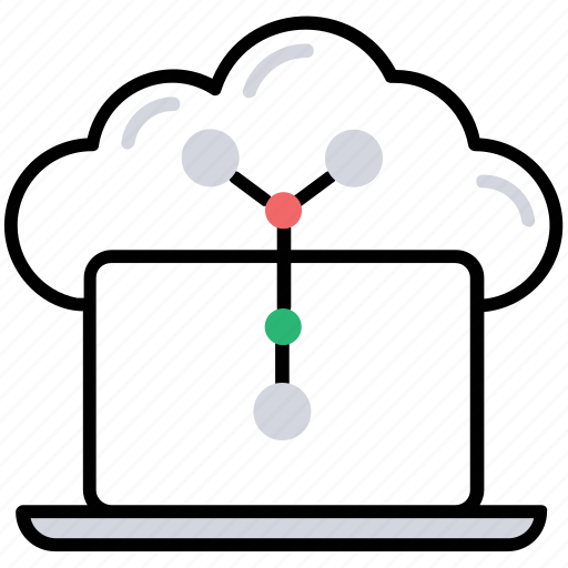 big data, cloud computing, cloud information, cloud storage, information technology icon