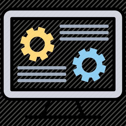 source coding, web designing, web development, website management, website template icon