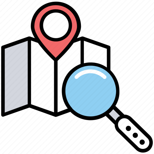 Geomarketing, geotargeting, local seo, location marketing, place optimization icon - Download on Iconfinder