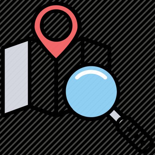 geomarketing, geotargeting, local seo, location marketing, place optimization icon