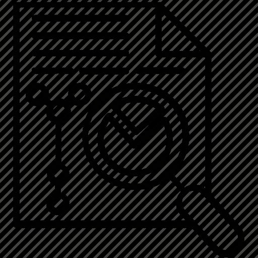 content audit, seo analysis, seo audit, seo data audit, webpage analysis icon
