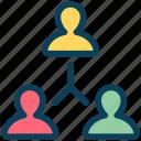seo, teamwork, connection, hierarchy