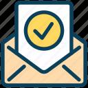 seo, envelope, letter, email, accept