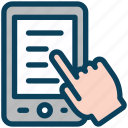 seo, mobile, touch, smartphone, document