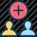 seo, add, new, friend, user