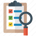 analytics, assessment, business analysis, data analysis, project analysis icon