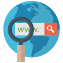 analysis, online search, web monitoring, web searching, website monitoring icon