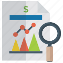analytics, data analysis, data chart, data chart analysis, finance chart, statistics icon