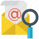 e mail address finding, e message searching, electronic mail, email, mail searching, online mail searching icon