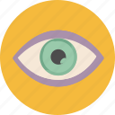 eye, find, look, search, seo icon