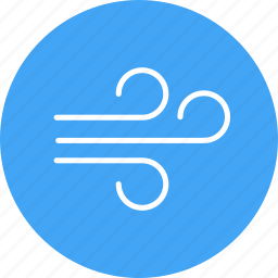 weather, wind, winds icon