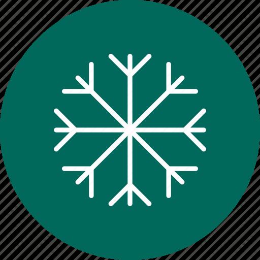 cold, snowflake, winter icon