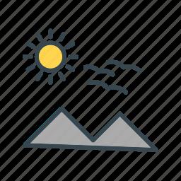 color, peace, spring icon icon