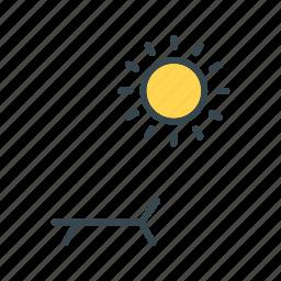 solarium, spa, sunbath icon