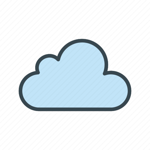 Cloud, cloudy, weather icon - Download on Iconfinder