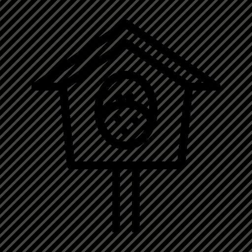 Bird, birdhouse, chicken, nest, sparrow, spring icon - Download on Iconfinder