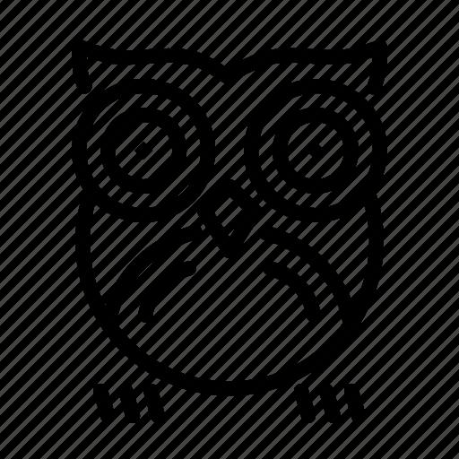 Bird, halloween, night, nocturnal, owl icon - Download on Iconfinder