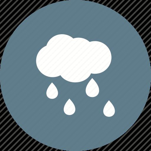 heavy, monsoon, rain, rainfall, storm, umbrella icon