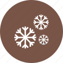 cold, nature, sky, snow, snowfall, white, winter icon