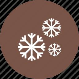 cold, nature, sky, snow, snowfall, white, winter icon