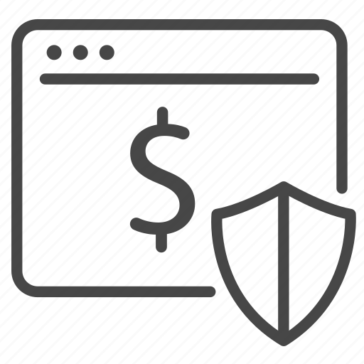 payment, protect, safe, secure, security, web icon