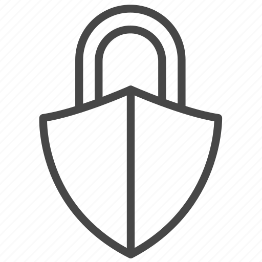 lock, payment, protection, safe, secure, security, shield icon