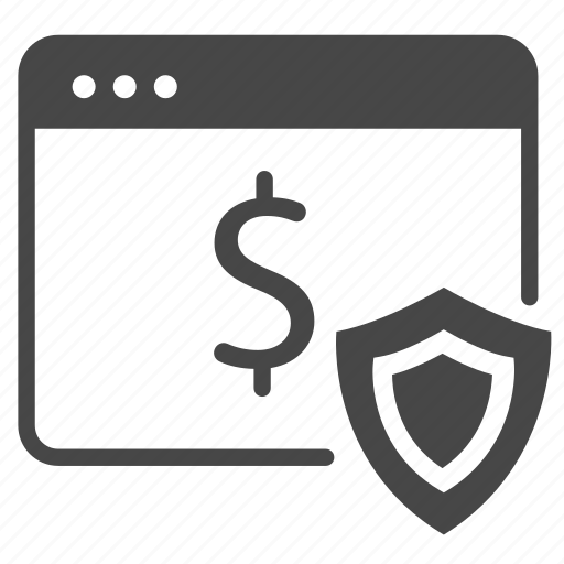 online, payment, protect, safe, secure, security, web icon