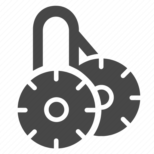 double, lock, payment, safe, secure icon
