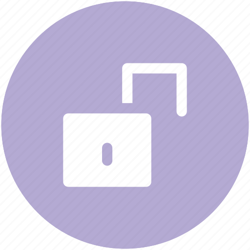 lock, lock open, lock unlock, padlock, security, unlock icon