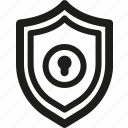 antivirus, guard, lock, project, protect, safe, shield icon