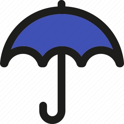 cloudy, forecast, insurance, moon, rain, umbrella, weather icon